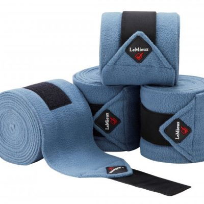 LeMieux Luxury Polo Bandages (Set of 4) Ice Blue